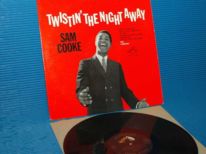 "SAM COOKE - - ""Twistin' The Night Away"" -  RCA 'Black Dog' 1962 1st pressing"