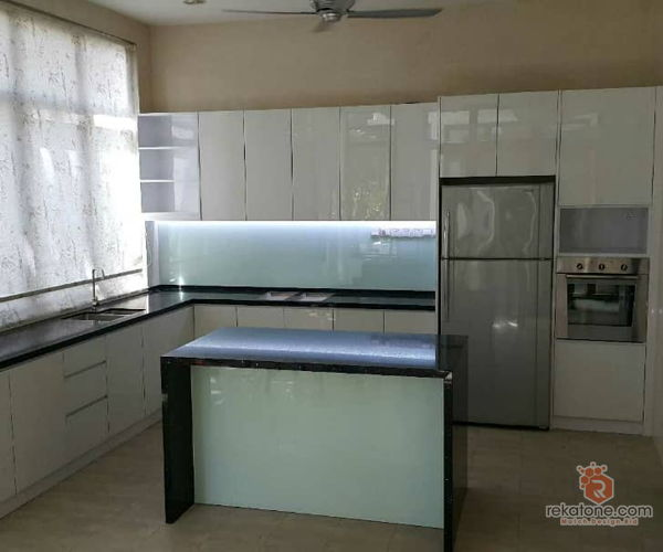 thashwin-renovators-contemporary-minimalistic-modern-malaysia-selangor-dry-kitchen-wet-kitchen-contractor