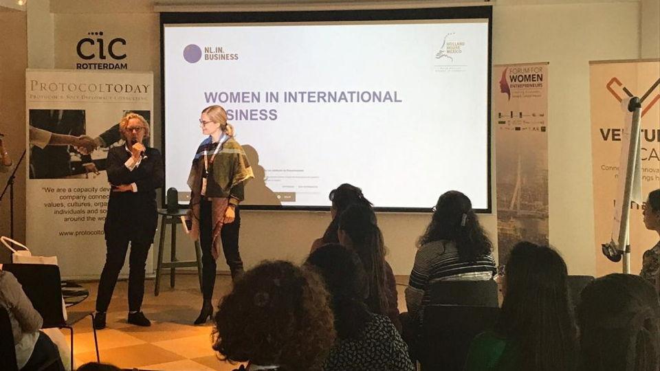 NLinBusiness beleeft een succesvolle middag tijdens het Forum for Women Entrepreneurs