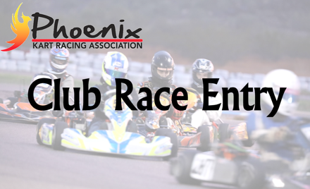 PKRA Club Race - Winter #3 - Dec 1, 2019