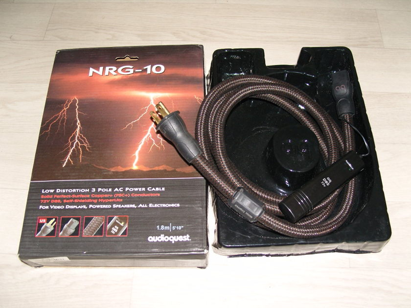 Audioquest NRG10 power cord
