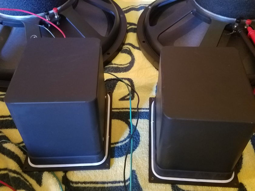 JBL D130 & LE175 Horns with HL87 Potato Mashers console pulled relics