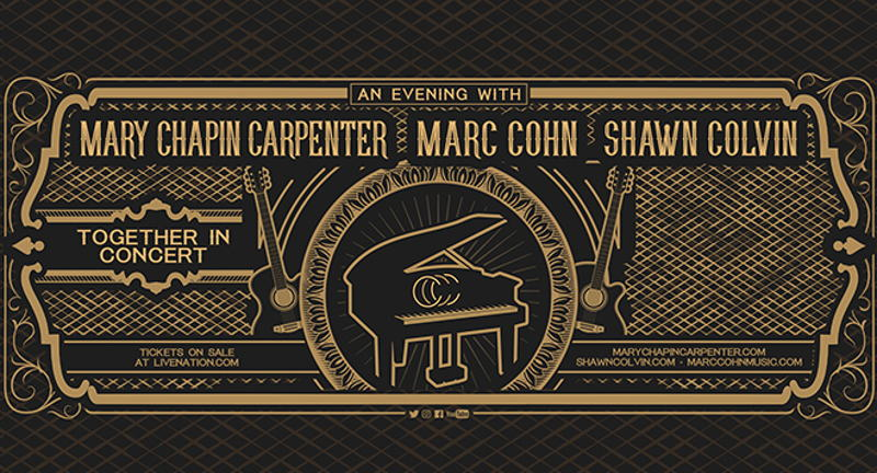 *CANCELLED* Mary Chapin Carpenter / Marc Cohn / Shawn Colvin