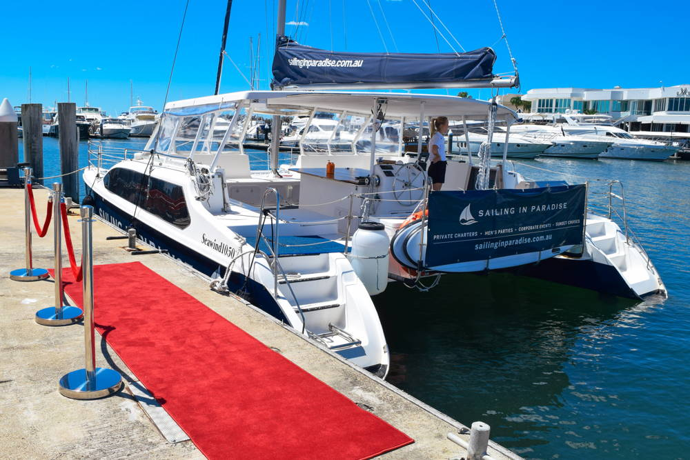 Gold Coast Christmas Party Cruise | Sailing in Paradise