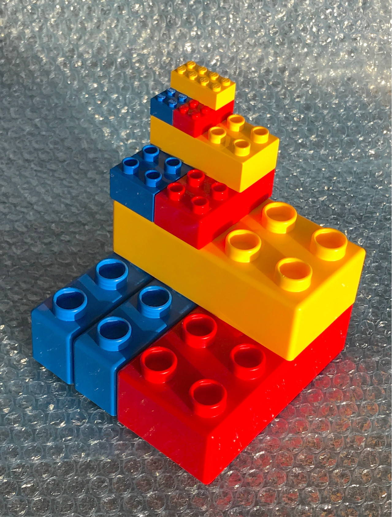 lego duplo with regular lego