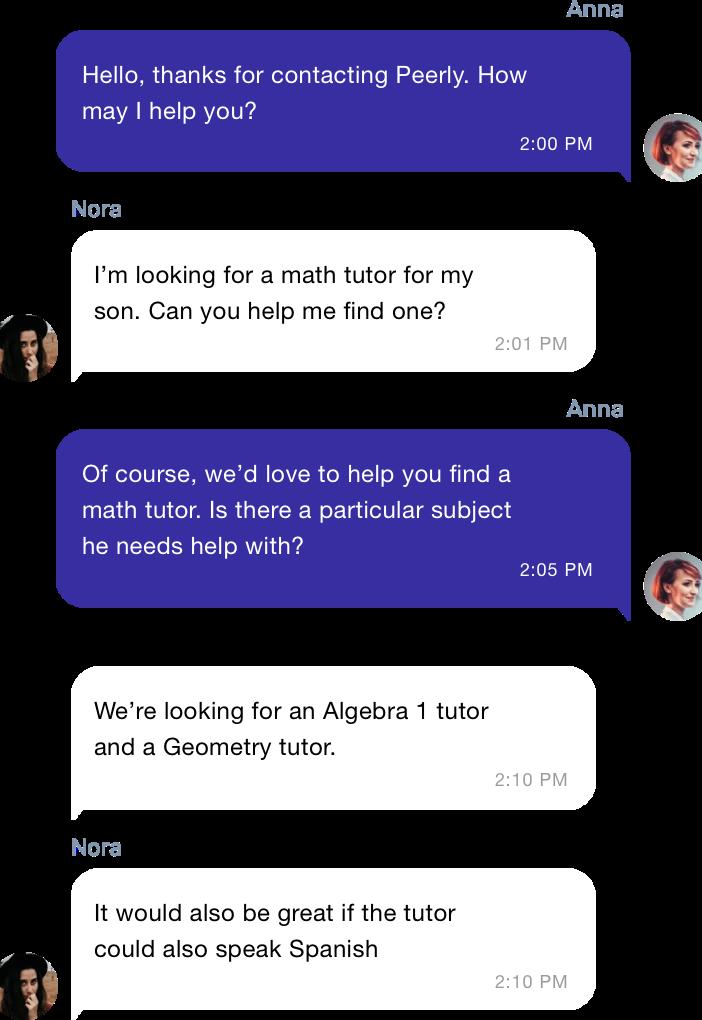 Easy Tutor Communication