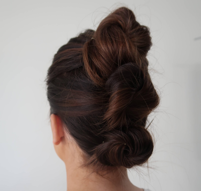 Dsvines french twist hair tutorial