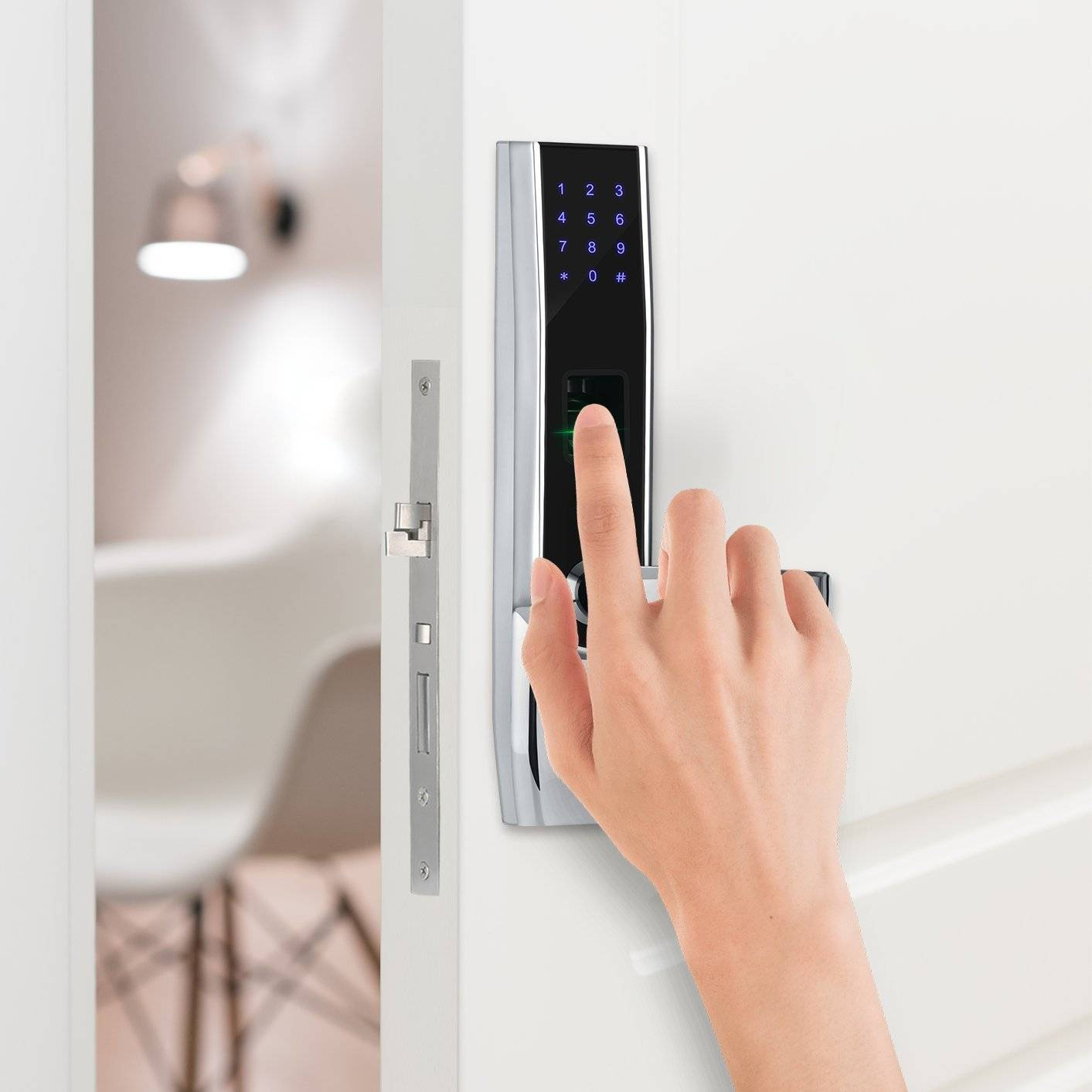 fingerprint smart lock can identify you quickly