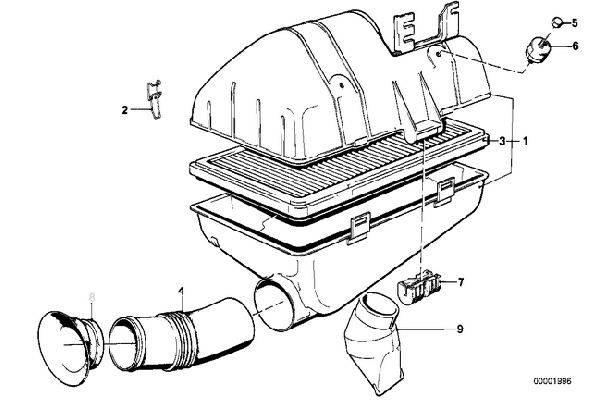 M20B23 Air Filter  13721271254
