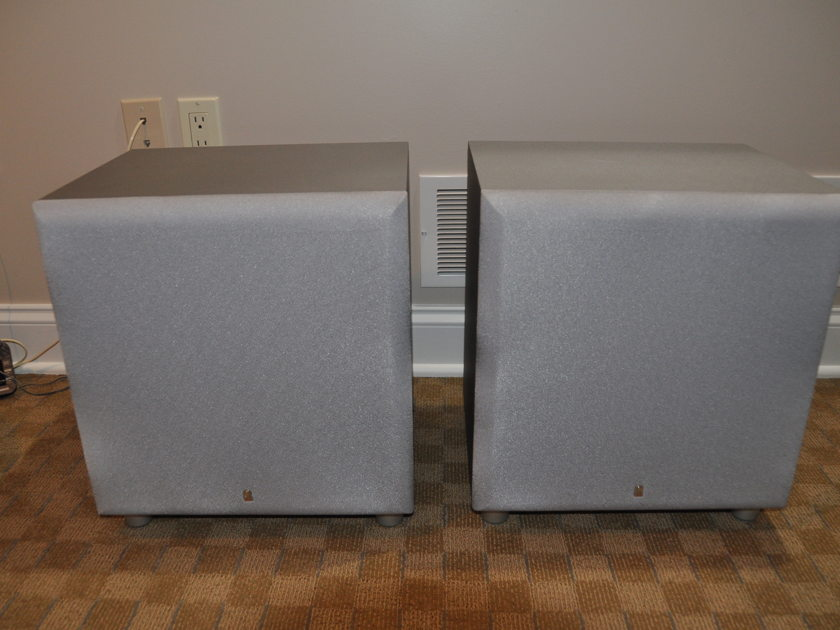 Revel Concerta B-120 Subwoofer Pair with WIFI Hook Up