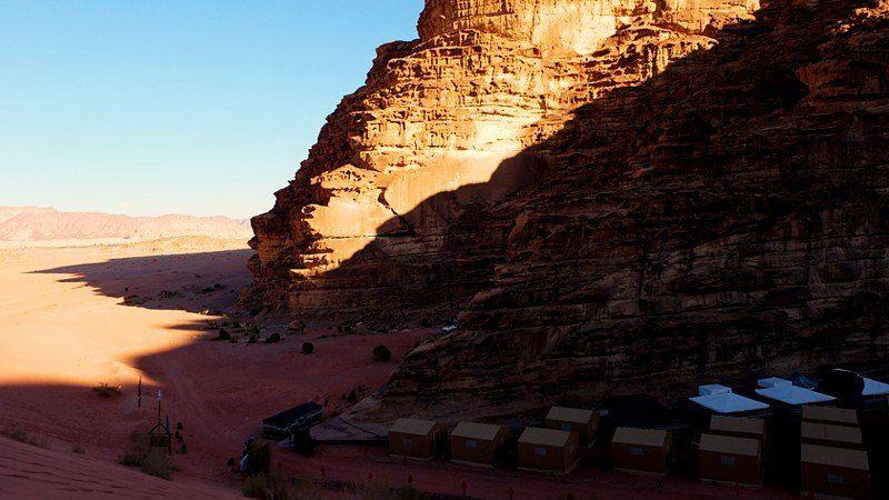 Rahayeb Camp in Wadi Rum, Jordan