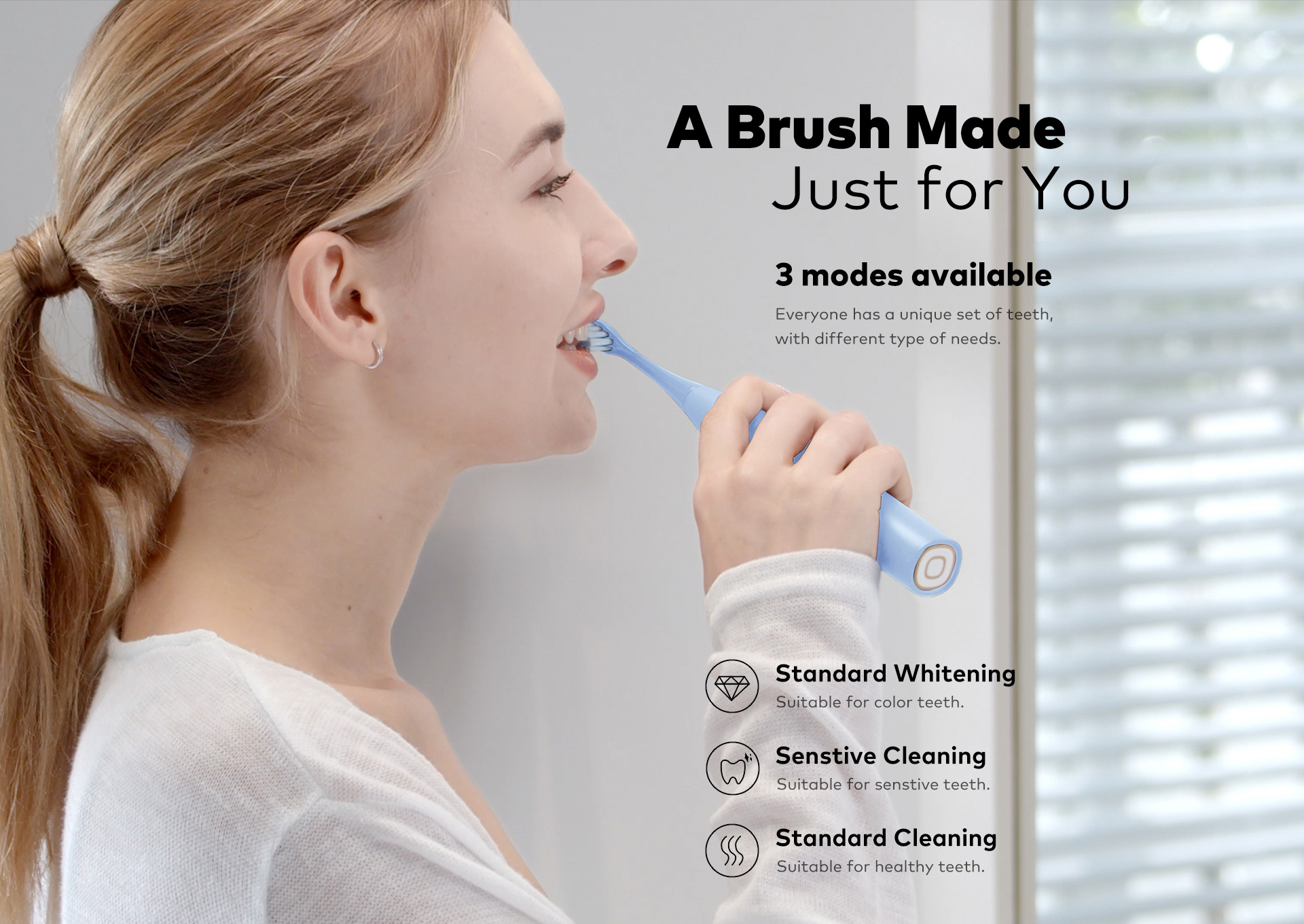 a brush made just for you