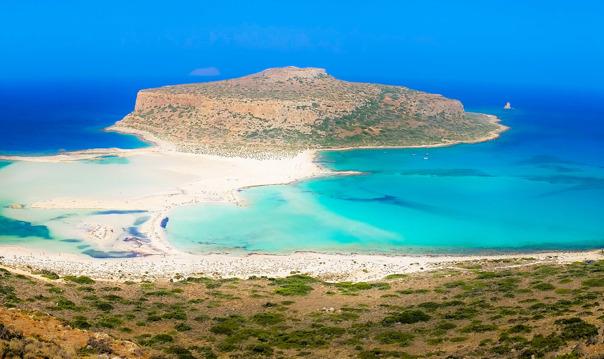 Остров Грамвуса и бухта Балос (из Ханьи)