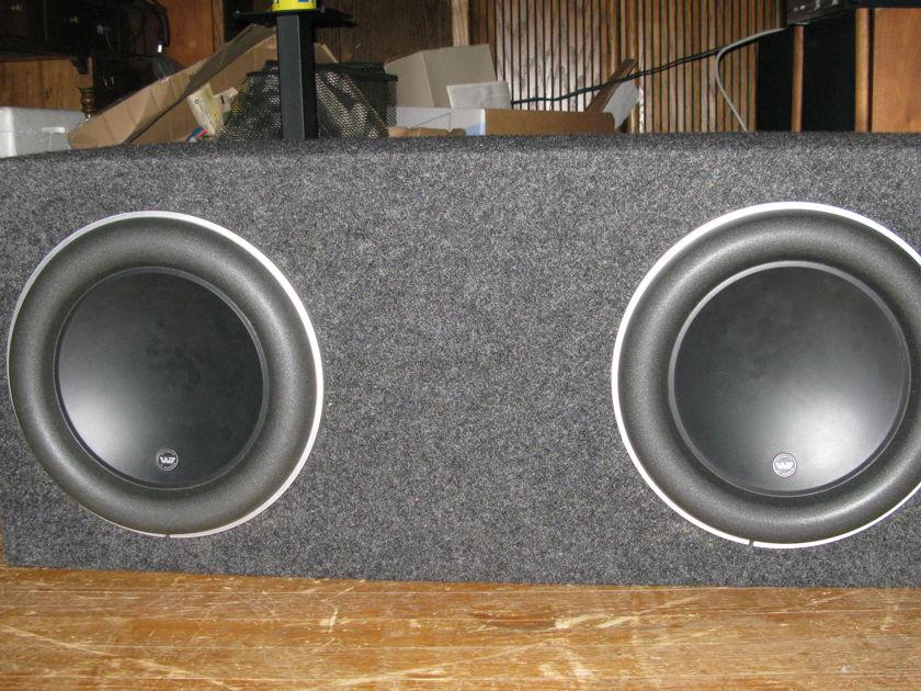 JL Audio 12W7 12 inch Subwoofer pair