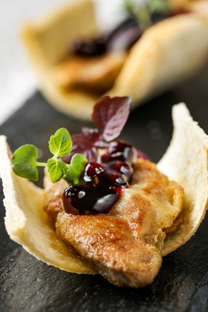 CPHKCWB_Pan Seared Hungary Duck Liver with Blueberry Sauce 香煎匈牙利鴨肝伴藍莓醬 .jpg