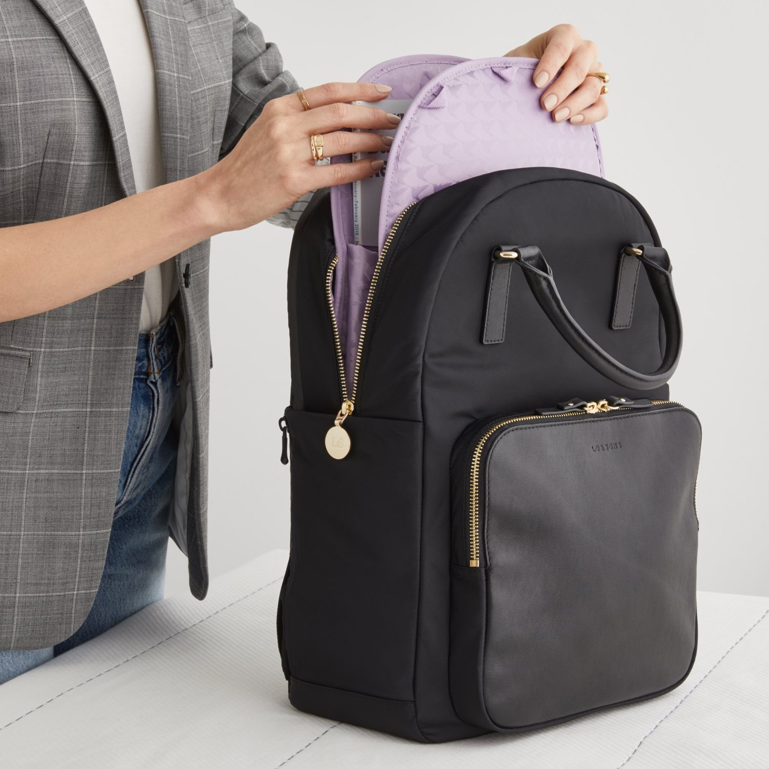 The Rowledge backpack by Lo and Sons