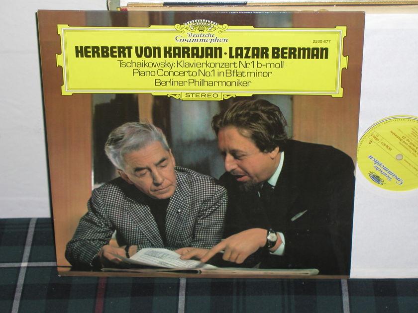 Von Karajan/BPO - Tschaikowsky Cto 1 DG German import LP