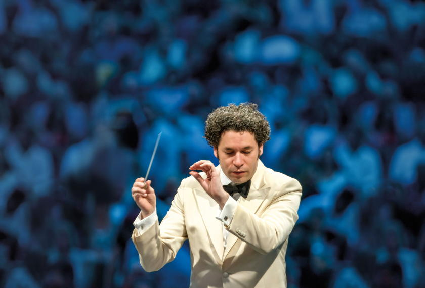 Dudamel Conducts Mahler's 2nd artwork