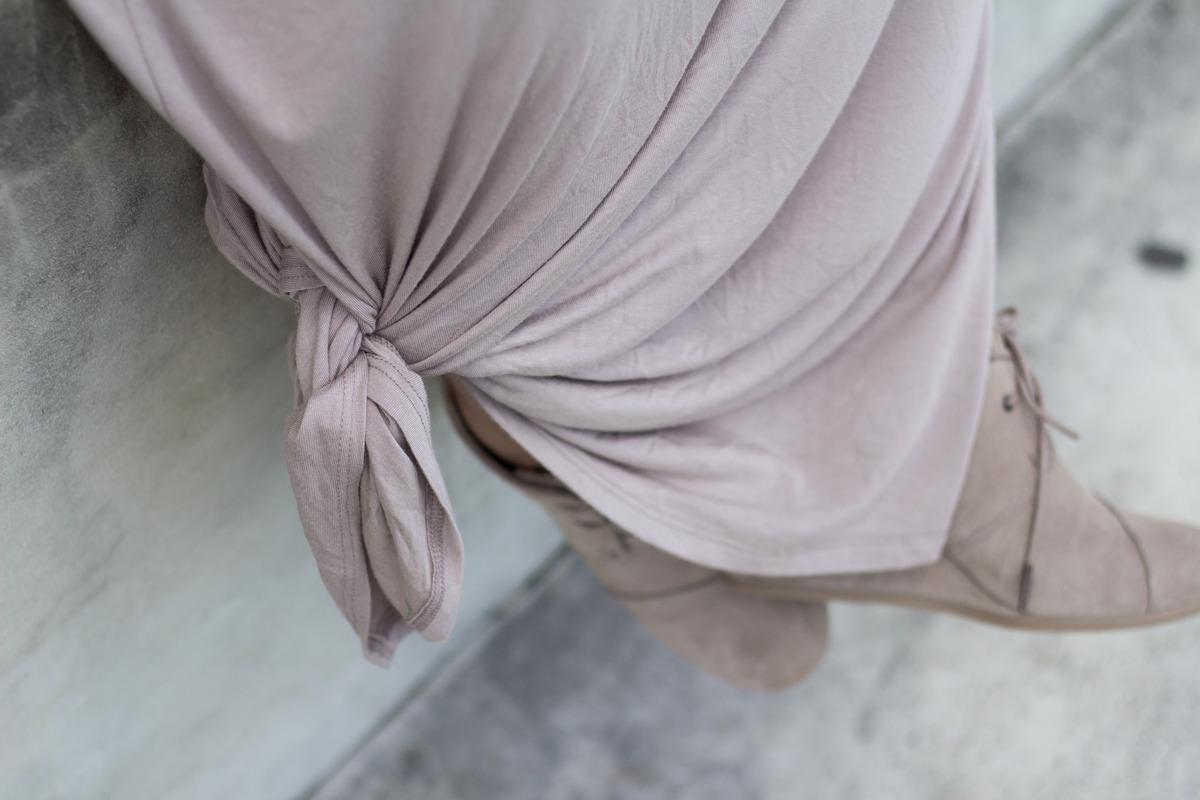 Primitive Beginnings womens summer apparel dresses travel latte maxi dress