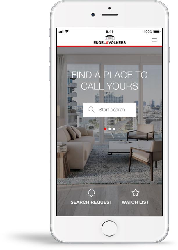 Property Seach App Engel & Völkers