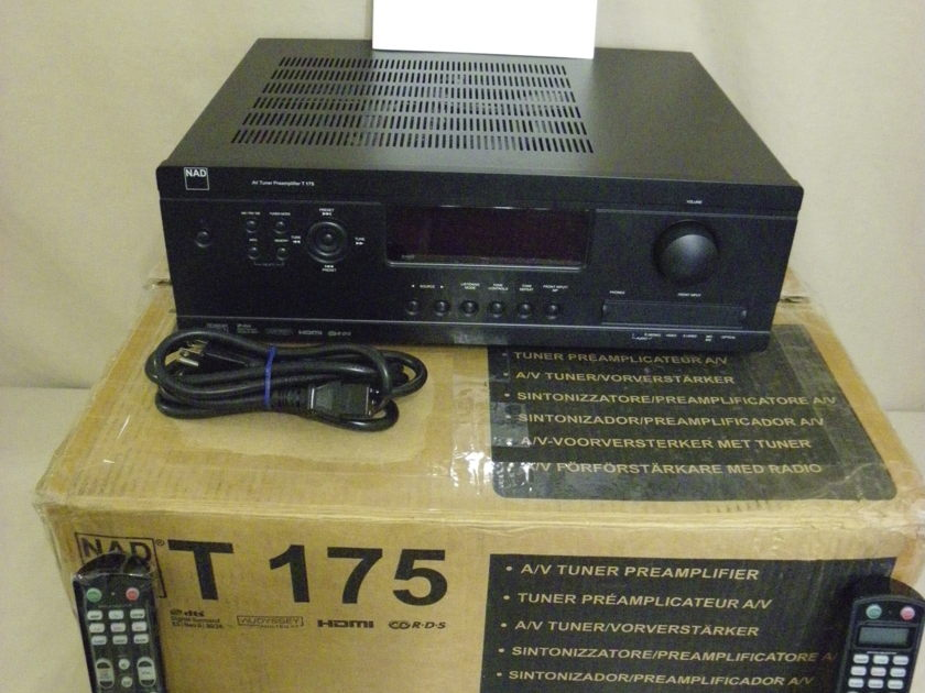 NAD T175 A/V TUNER/ PROCESSOR - EXCELLENT CONDITION