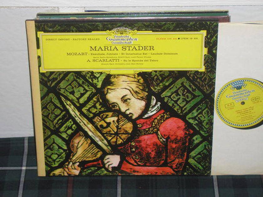 Stader - Mozart/Scarlatti DGG German import Tulip label