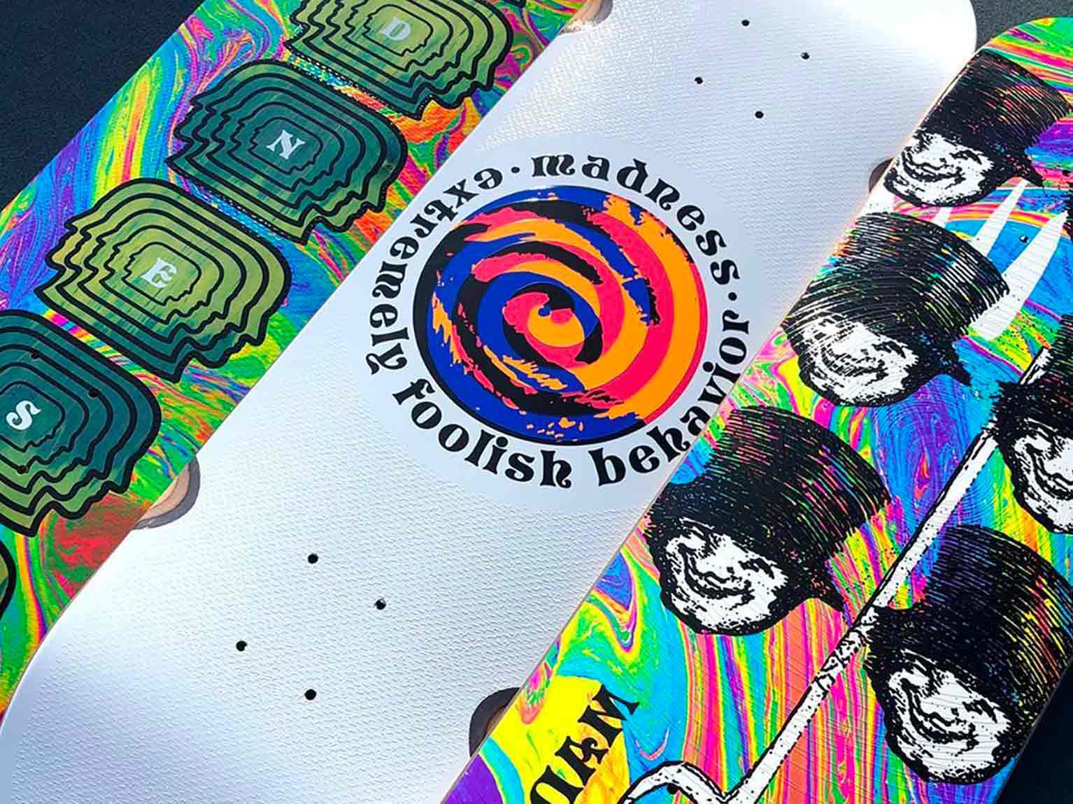 Tavole da skate Madness Skateboards