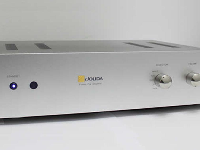 Jolida Modified Fusion Remote preamp is superb