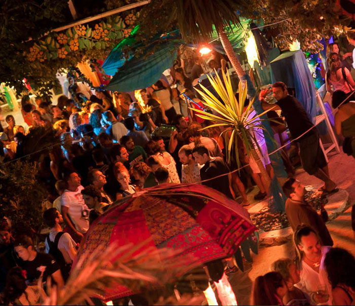 Ibiza clubs guide, las Dalias afternoon parties in Ibiza