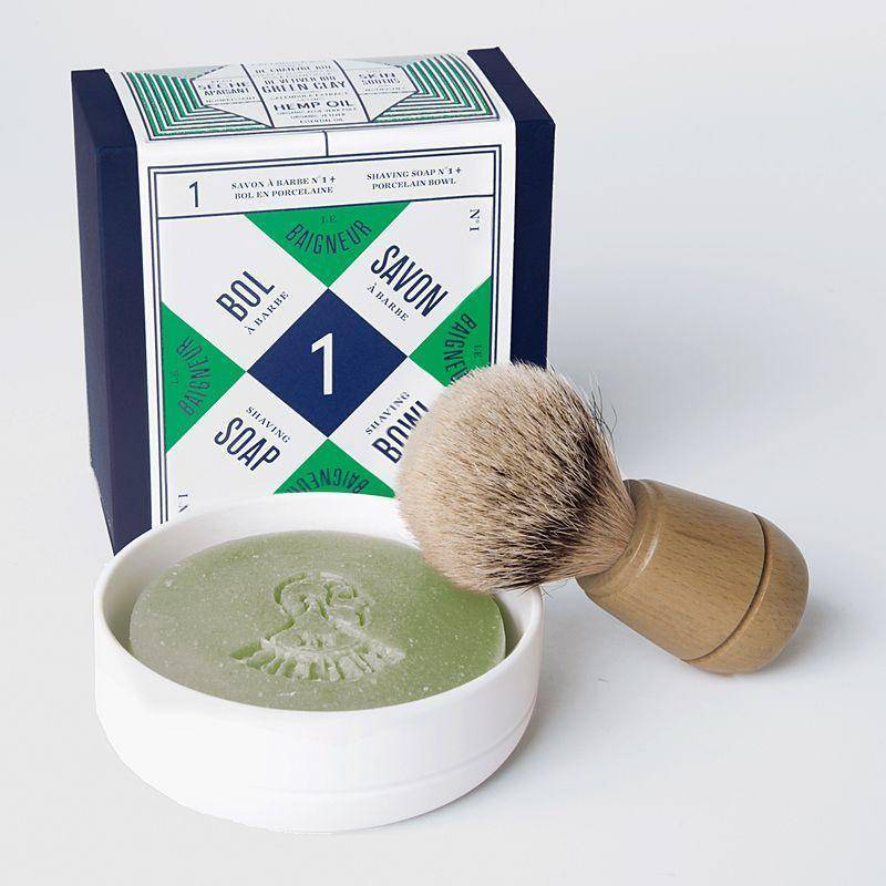 Shaving Bowl and Shaving Soap