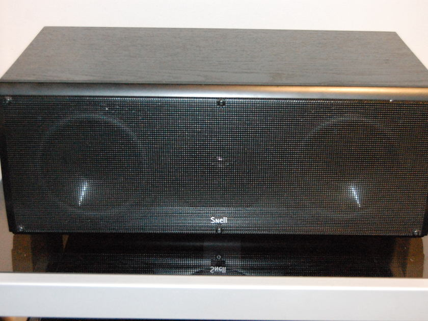 Snell CR.5 Center Channel Speaker in Black Ash