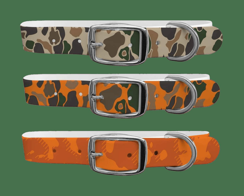 Three hunting c4 dog collars