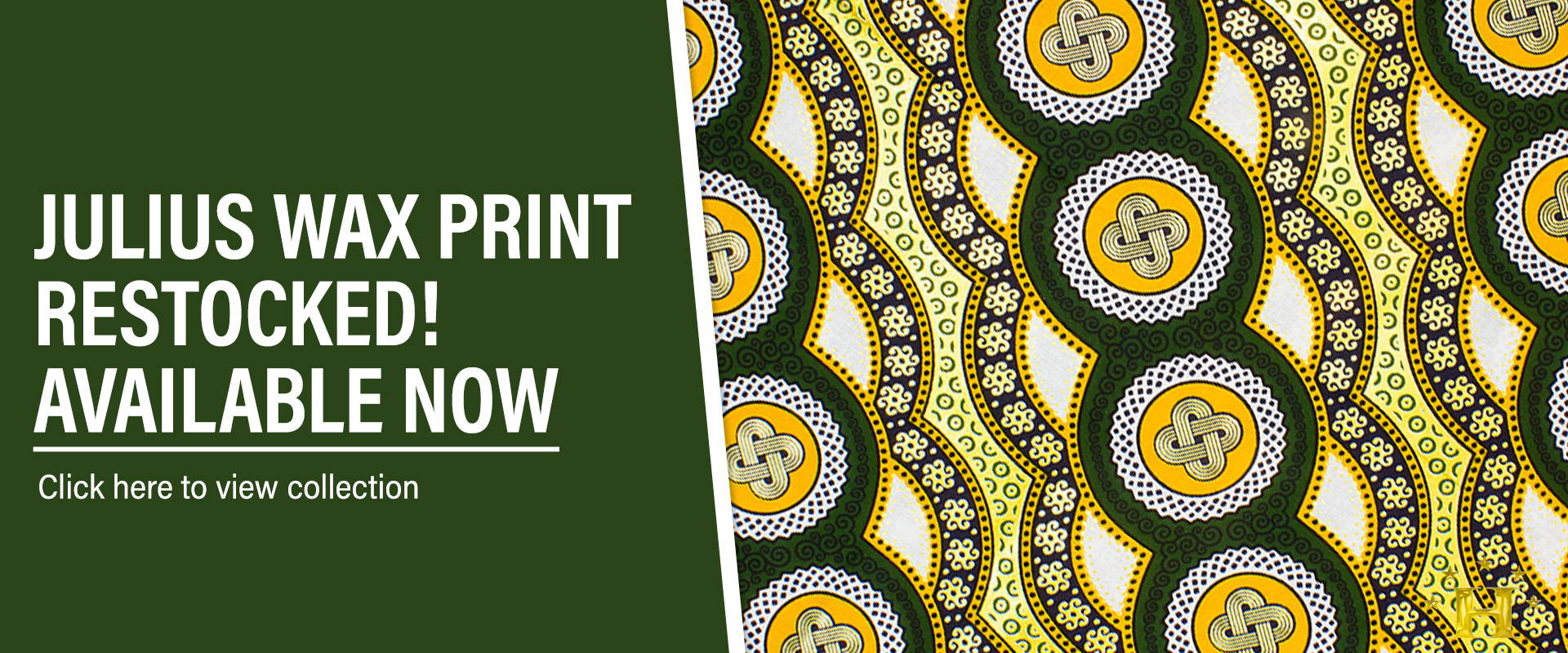 restocked julius holland african wax available now at hilton textiles