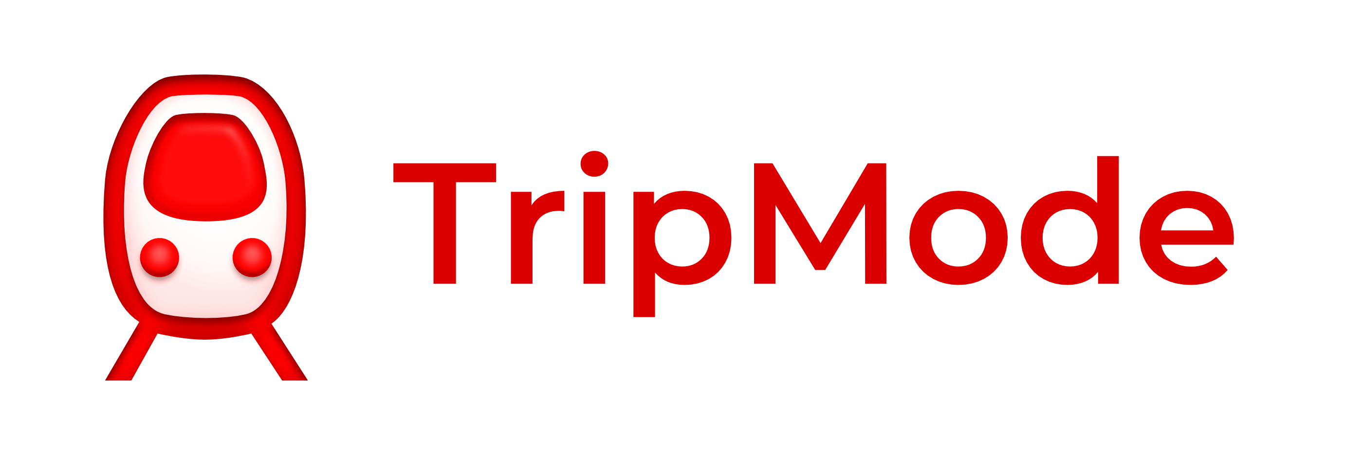 Tripmode3 logo and text b