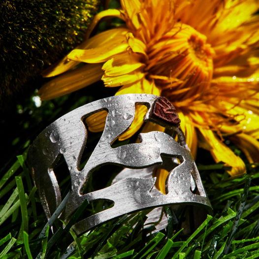 Кольцо из серебра коллекция Планеты
