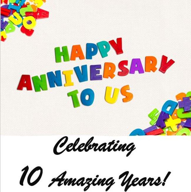Happy 10 Years