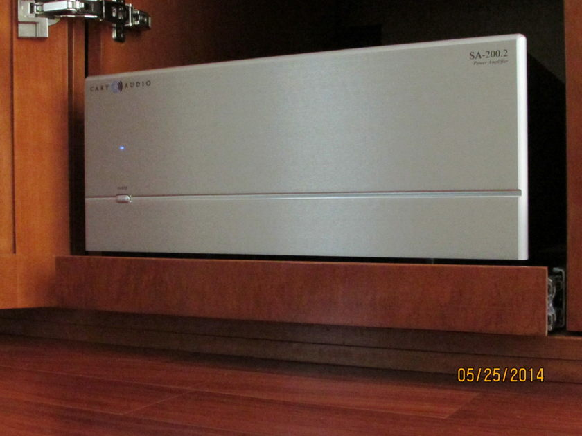 Cary Audio Design SA200.2 Solid State Amplifier