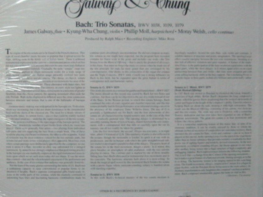 ★Sealed★ RCA Red Seal / GALWAY-CHUNG, - Bach Trio Sonatas!