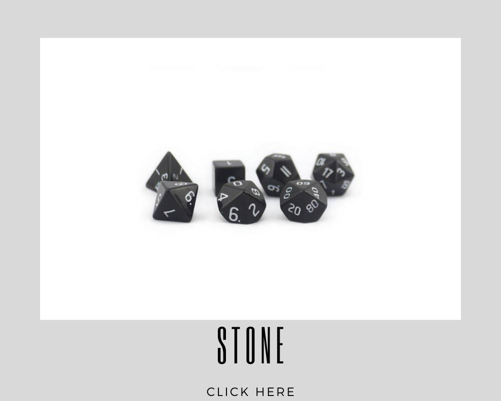 Corporate Stone Custom Dice