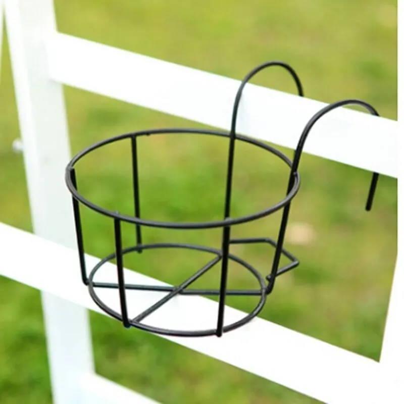 Flowerpot holder-iron-planter-support for balcony-balco-details-1