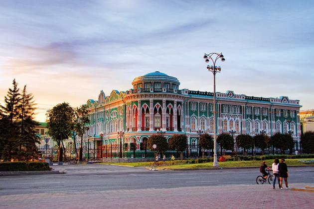 Автомобильная обзорная экскурсия по Екатеринбургу