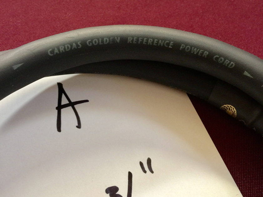 Cardas Audio golden reference power cable