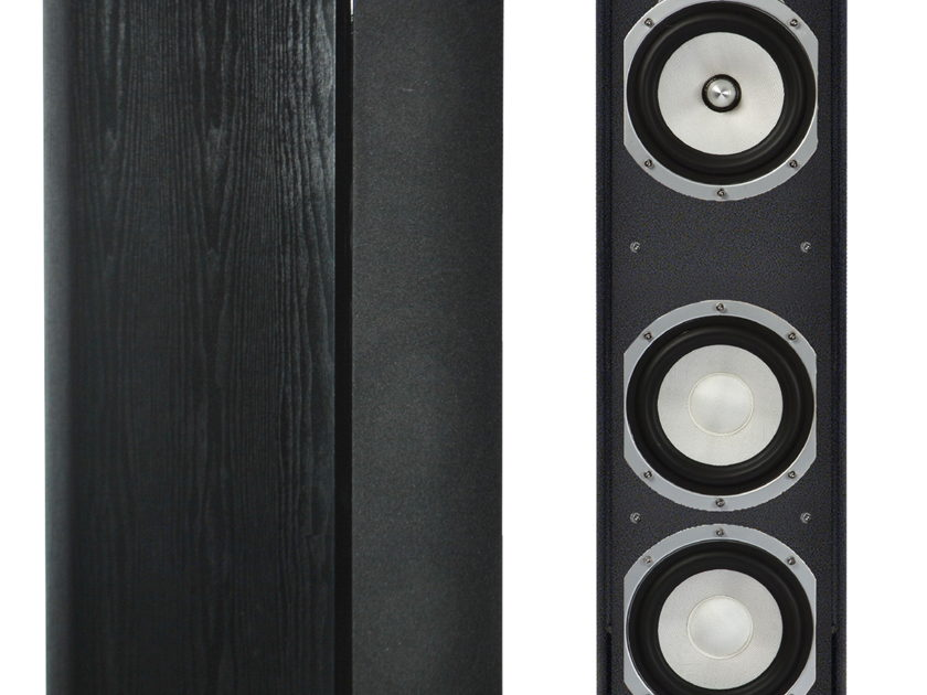 Sinclair Audio 460T tower speakers maple finish. top of the line in the  brighton series. Ships free!