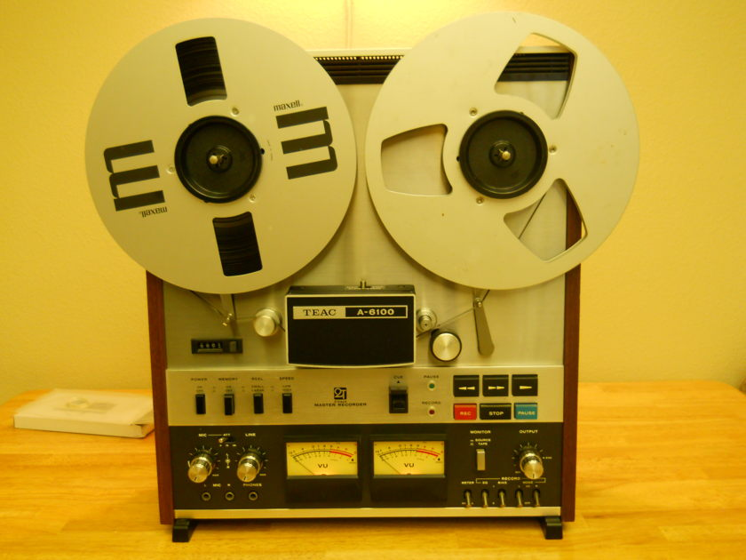Teac  A 6100 Mester Recorder Stereo reel to reel  a Mester Recorder