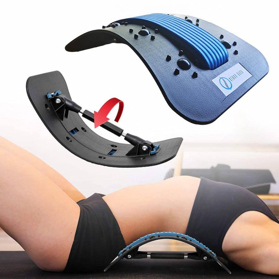 lumbar extender, lumbar stretch device, Spinal Decompression Device, Lumbar Decompression Machine