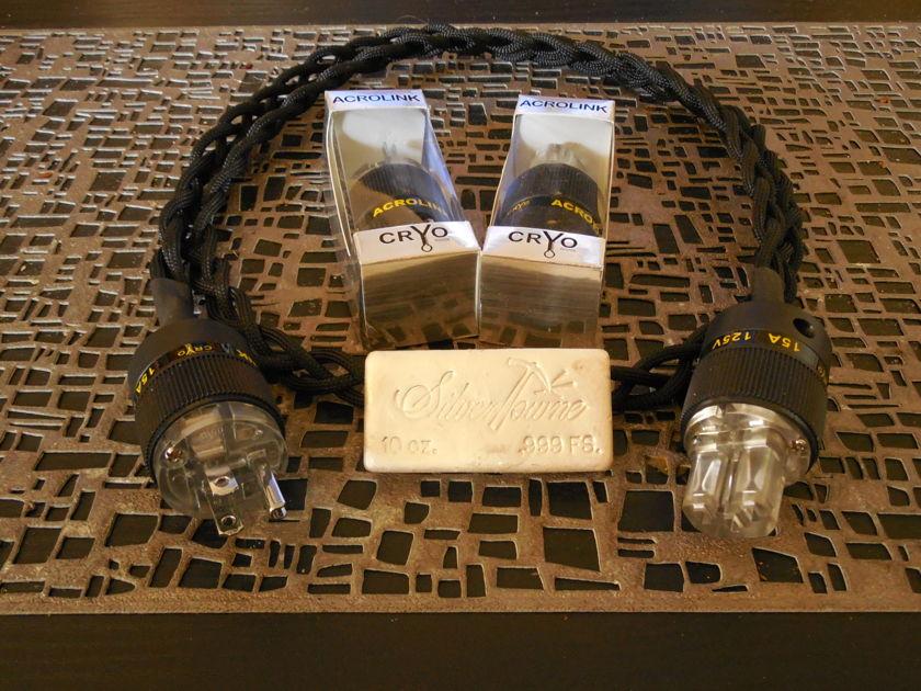 CUSTOM  CABLES SILVER/TEFLON
