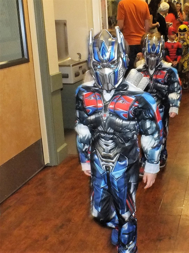 Parading in Multiples -  The year of superheros!