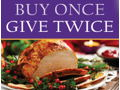 Give a Holiday Meal to a needy family.