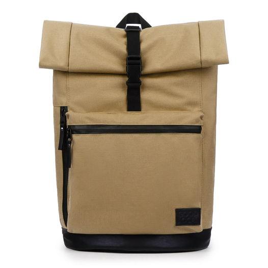 Рюкзак из кордуры бежевый GOOD LOCAL Rolltop Special W/Zip Beige
