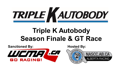 Triple K Autobody Season Finale & GT Race-Sept 22